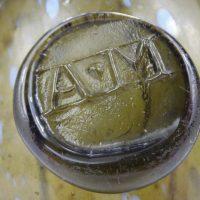 Antique Cylinder Sealed Wine Bottle AM
