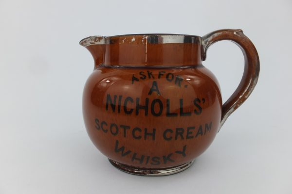 Nicholls Scotch Cream Whisky Water Pub Jug