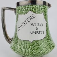 Chesters Ales & Stouts Shelley Pottery Advertising Jug