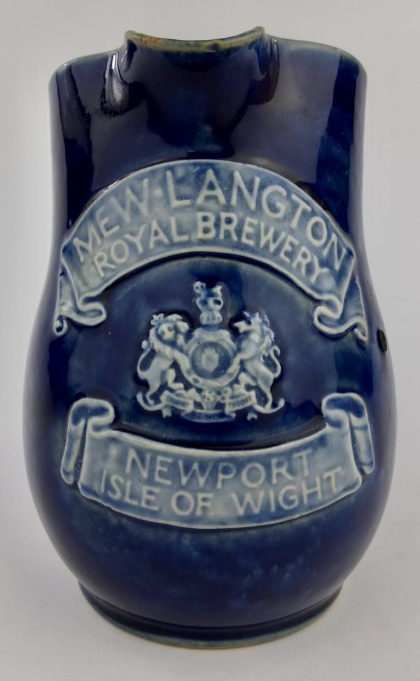 Mew Langton Royal Brewery Newport Isle of Wight Doulton Pub Jug