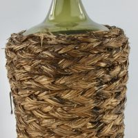 German Black Forest Storage Bottle Basket Weave