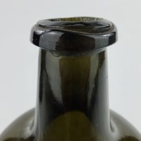 Black Glass Porter Ale Bottle