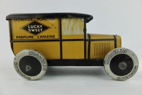 Lucky Sweet Toulouse Pastille Peugeot Vehicle Car Van Tin
