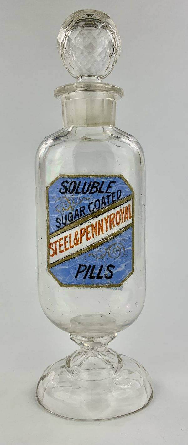 Steel & Pennyroyal Pill Bottle