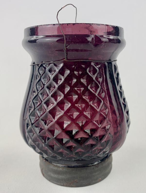 Purple Glass DRGM Fairy Lamp
