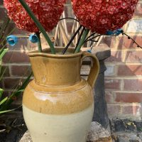 Large Stoneware Kitchen Cottage Jug