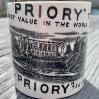 Scarce Tea Company Mug Whitefriars Priory London