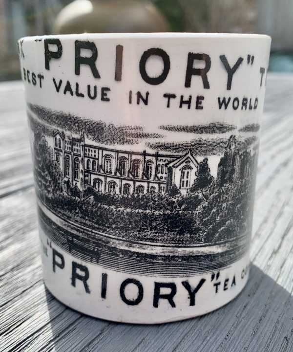 Scarce Tea Company Mug Whitefriars Priory London