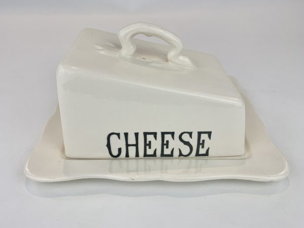 Masons Pottery Cheese Dish