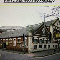Aylesbury Dairies Co Bayswater London Milk Cream Can