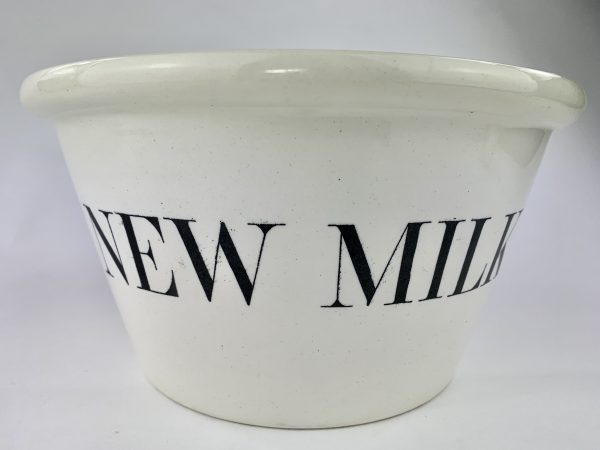 New Milk Ironstone China Pail Copeland