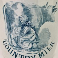 Ironstone Pure Country Milk Pail
