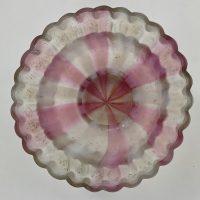 Antique Glass Fairy Lamp Base Clarkes Patent