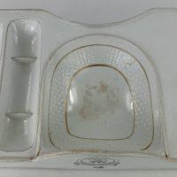 Vernons Patent Ironstone Pottery Dish Zuccani London Mintons